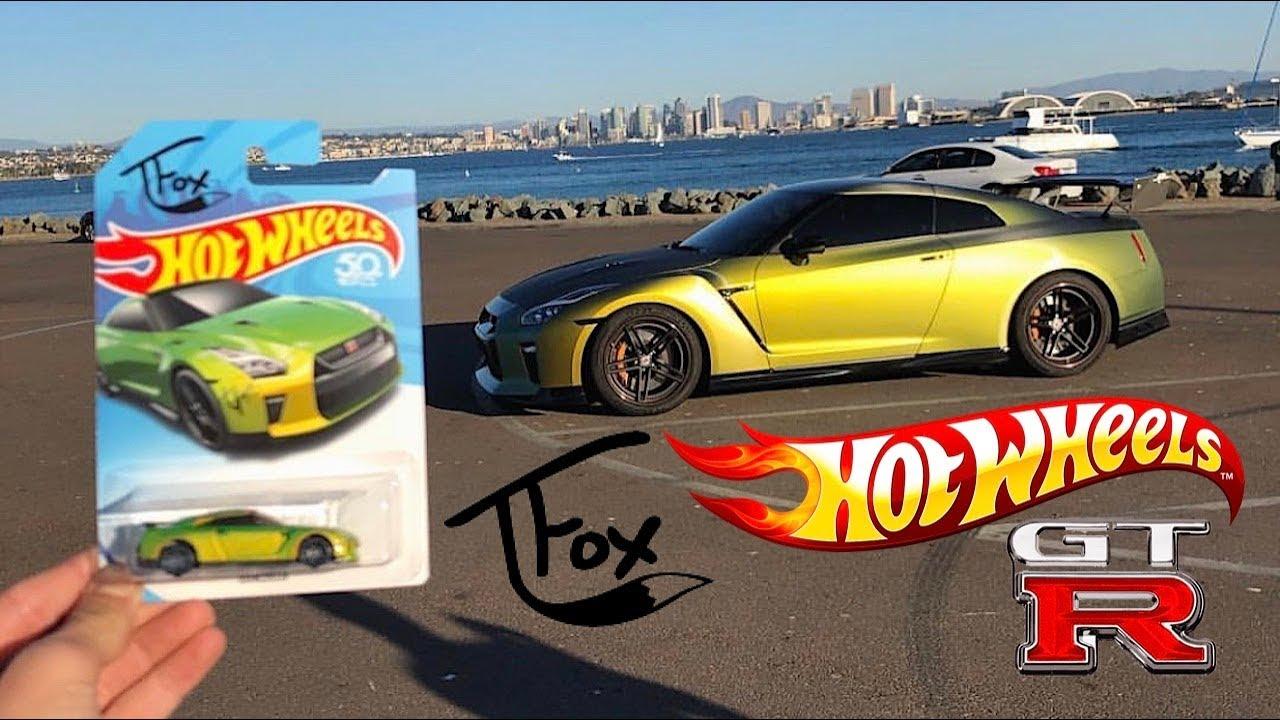 Tanner Fox s Hot Wheels Nissan GT-R GUACZILLA! - YouTube 3089faf1b8