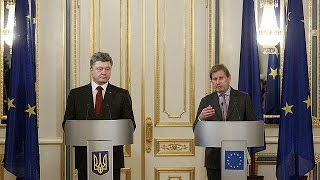 Differences emerge in Moscow and Ukraine over need for peacekeeping force
