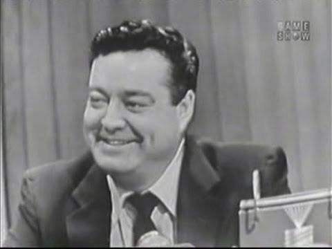 What's My Line?  Jackie Gleason Mar 8, 1953
