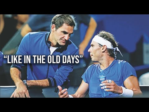The Day Rafael Nadal Had Roger Federer As His COACH || Laver Cup 2019