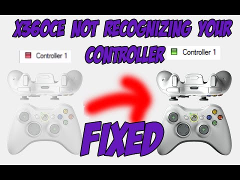 [FIXED]: x360ce not recognizing your USB controller [Red light on the tab  menu]