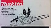 Repair Makita DCS 4610 (access for oil pump) - YouTube