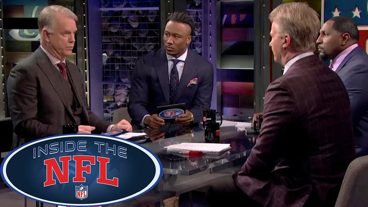 watch 3fe9c 323c8 Week 17 Game Picks with Special Host Brandon Marshall | Inside the NFL