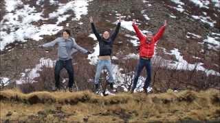 Minus degrees fun in Iceland