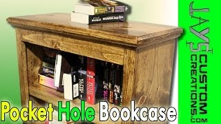 Pocket Hole Bookcase - 100