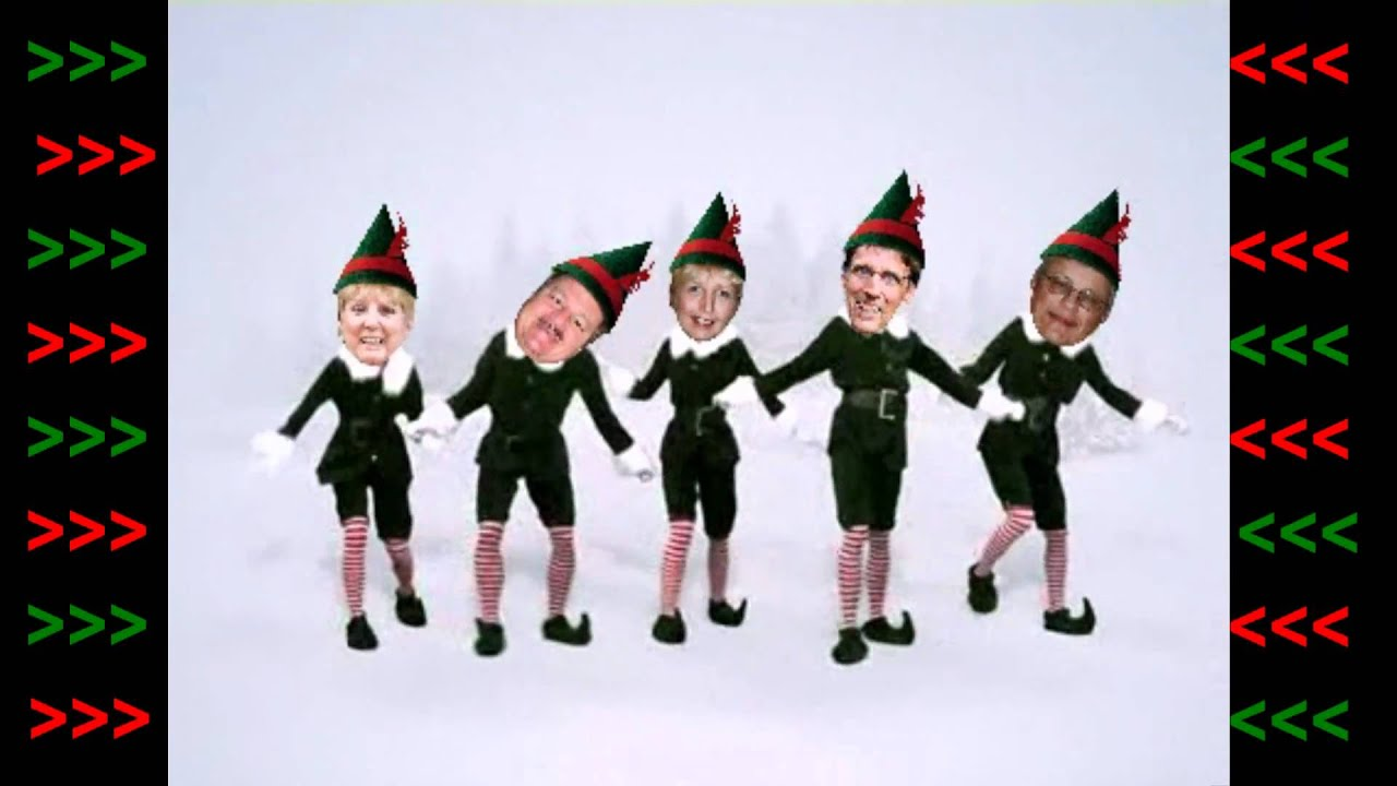 The Original Elf Yourself Classic Jib Jab Style - YouTube
