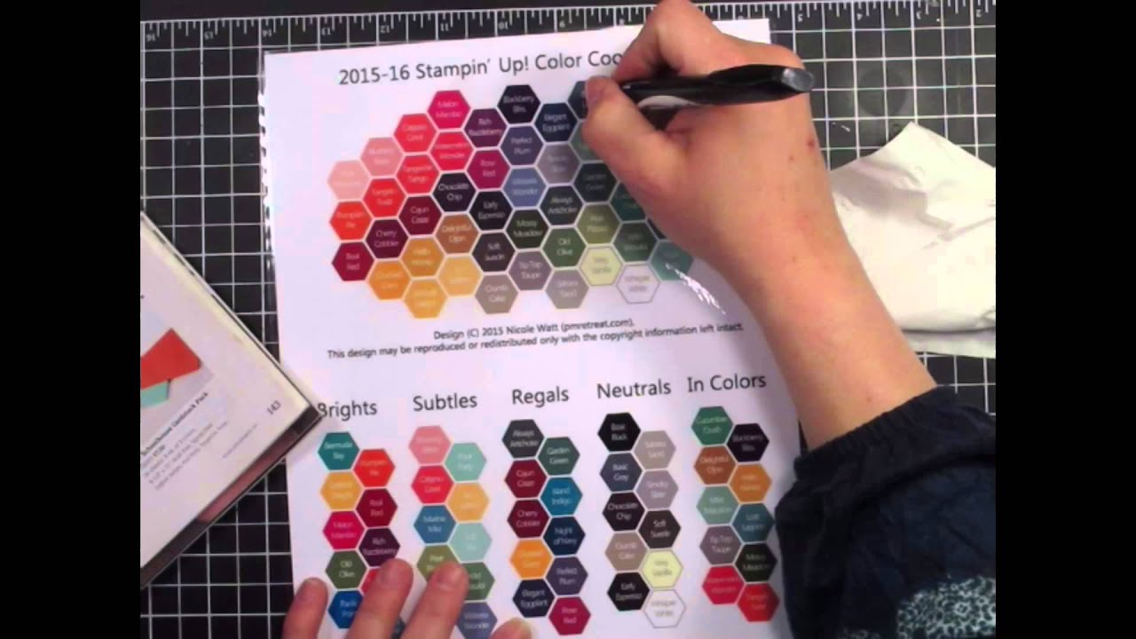 Hex color chart tips stampiphany youtube nvjuhfo Images