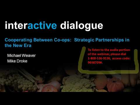 Webinar Playback: Cooperating Between Co-ops: Strategic Part