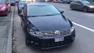 Американский автомобиль Volkswagen CC R-line купленный в Грузии.