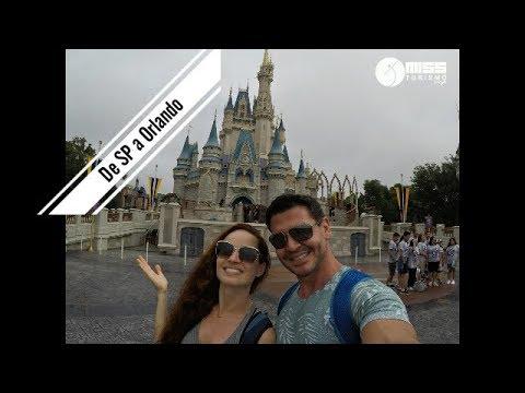 De SP a Orlando/USA (Link do Post na Descrição)