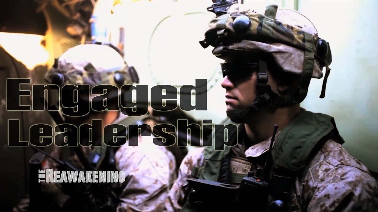 marine corps reawakening engaged leadership youtube