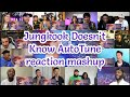 Jungkook Doesn't Know AutoTune| reaction mashup