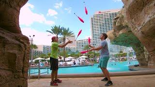 Epic trick shots & juggling w/ legendary shots