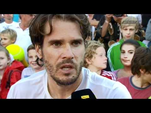 Tommy Haas im Interview - Mercedes Cup - Stuttgarter Weissenhof