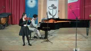 W. A. Mozart Sonata G major KV 379  Adagio-Allegro Doga ALTINOK (14 years old)