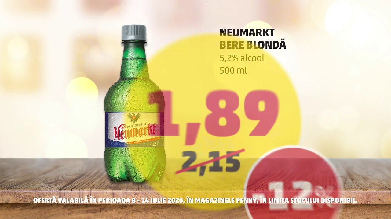 Ofertă: Bere blondă & Piersici | 8 - 14 iulie