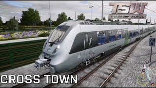 Drawyah plays Train Sim World - Cross Town|Episode 5