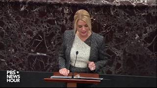WATCH: Pam Bondi argues Biden corruption concerns are legitimate | Trump impeachment trial