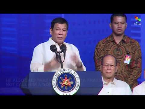 Duterte Calls Ban Ki-Moon a Fool