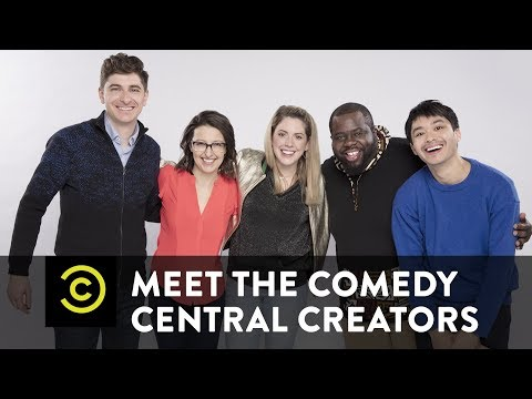 Meet the Comedy Central Creators