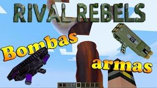 Como baixar e instalar mods no Minecraft: Rival Rebels - 1.7.10