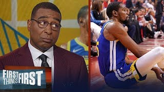 Download Warriors made a mistake clearing Kevin Durant for GM 5 - Cris Carter | NBA | FIRST THINGS FIRST Mp3 and Videos