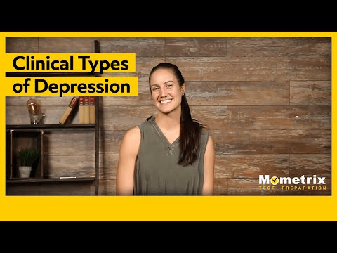 Clinical Types of Depression