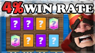 WINNING with the WORST Deck in Clash Royale History 🍊 screenshot 1