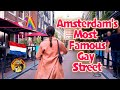 AMSTERDAM'S MOST FAMOUS GAY STREET👬 (Walking Tour)