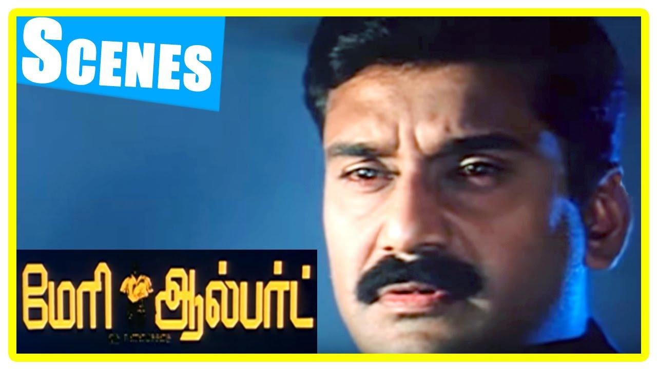 Mary Albert Tamil Movie | Scenes | Napoleon beats Sangeetha | Sattar ...