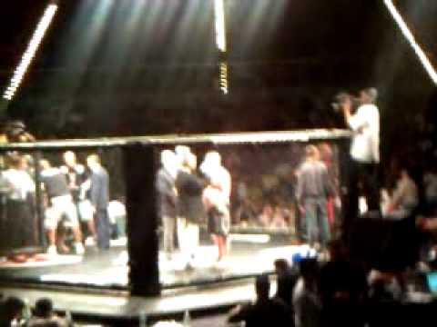 Download Polarbear Terry Blackburn 1st pro fight celebration