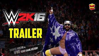 WWE 2k16 трейлер - официальные трейлеры игр