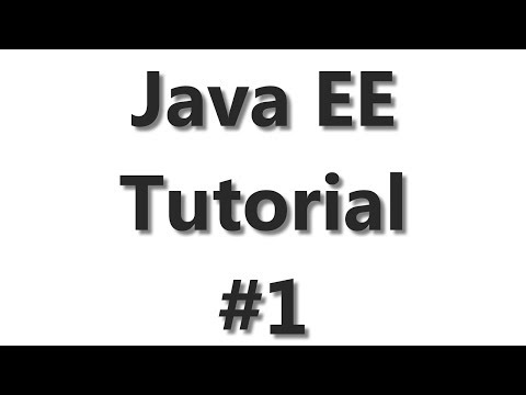 Java EE Tutorial #1 - Starting With Glassfish