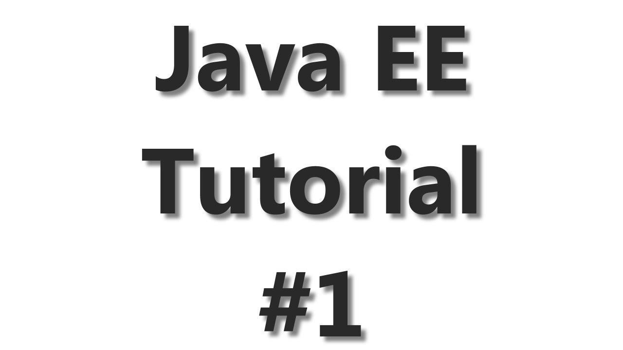 Java ee tutorial 1 starting with glassfish youtube baditri Gallery