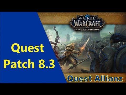 Abstieg In Den Wahnsinn Quest Patch 8.3 By IZocke