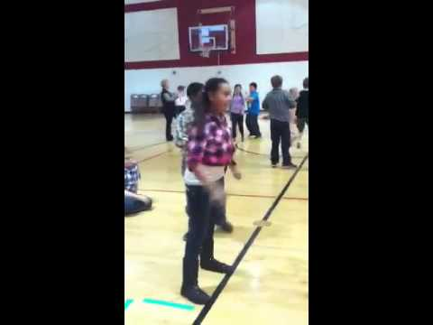 Kyleigh's Kansas Day Square Dance at Brookridge Elementary School
