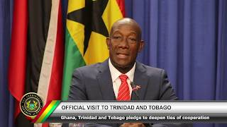 Official Visit to Trinidad & Tobago