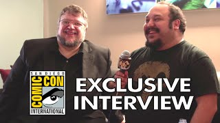 Comic Con 2014: Exclusive Guillermo Del Toro & Jorge Gutierrez Interview (HD) The Book of Life Movie