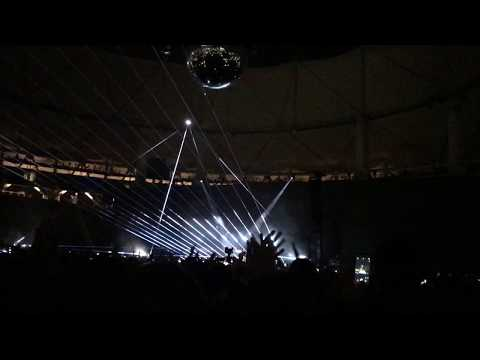 Brain Damage Live Argentina - Roger Waters (Prisma De Pink Floyd Formado Con Luces)
