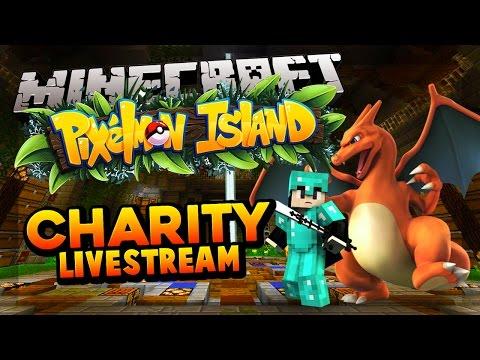 Minecraft PIXELMON  Minecraft Charity Livestream