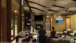 Renovation To Mountain Home Interior Final1