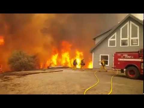 Wow!!! Cal Fire SLO at Butte Fire