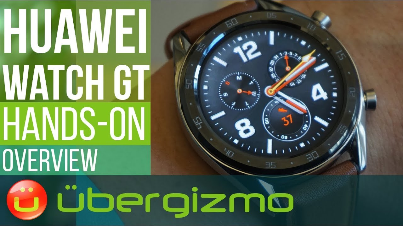 Huawei Watch GT Demo - 5 min Overview