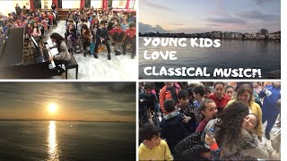 MUSIC EDUCATION program in GREECE // what YOUNG KIDS think about CLASSICAL MUSIC // Danae Dörken