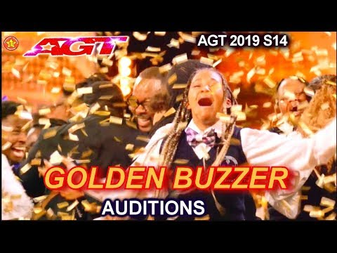 "Detroit Youth Choir WINS GOLDEN BUZZER RAPS ""Can't Hold Us"" 