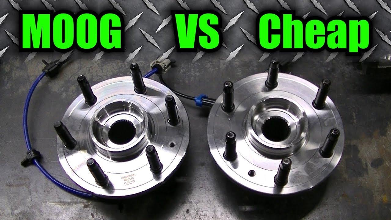 MOOG Wheel Bearing VS Cheap Wheel Bearing