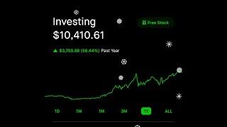 My $10,410 robinhood app stock market portfolio 2020 year end review
