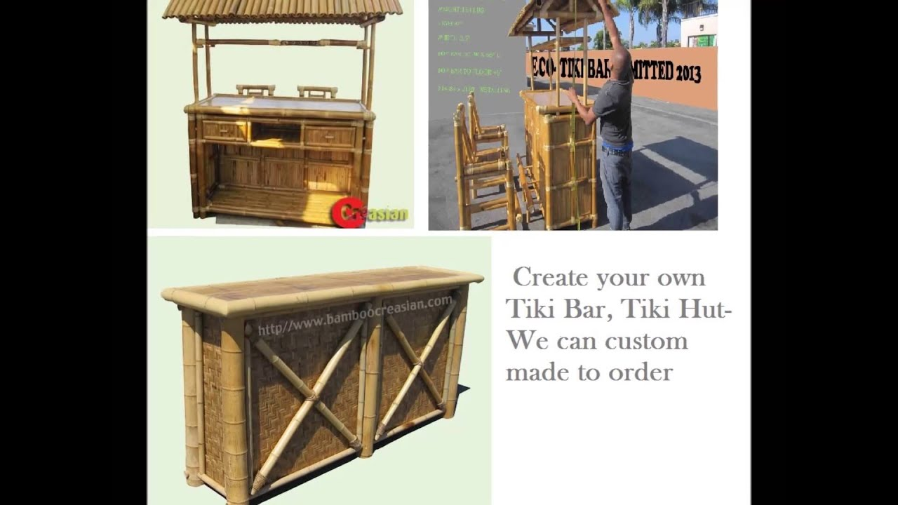 A Bar Hut Tiki Hut Bar Tiki Kit Tropical Bar Hut Bamboo