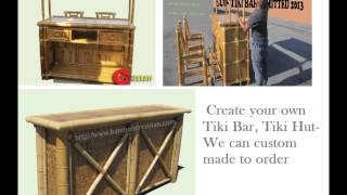 A Bar/hut(tiki )-hut/bar Tiki(kit)-tropical Bar/hut(bamboo Poles-thatch Roofs)-build Tiki Huts& Bars