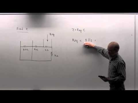 EGGN 281 Lecture 23 - Transient Analysis Step-by-Step Procedure